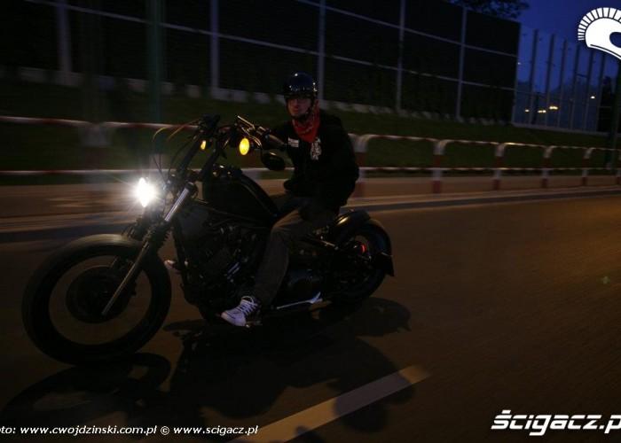 Poznan noca Yamaha XVS650