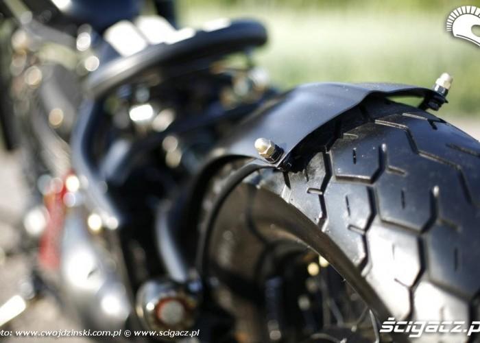 Yamaha XVS650 detale