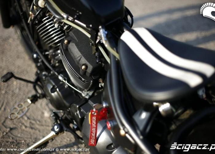 detale Yamaha XVS650