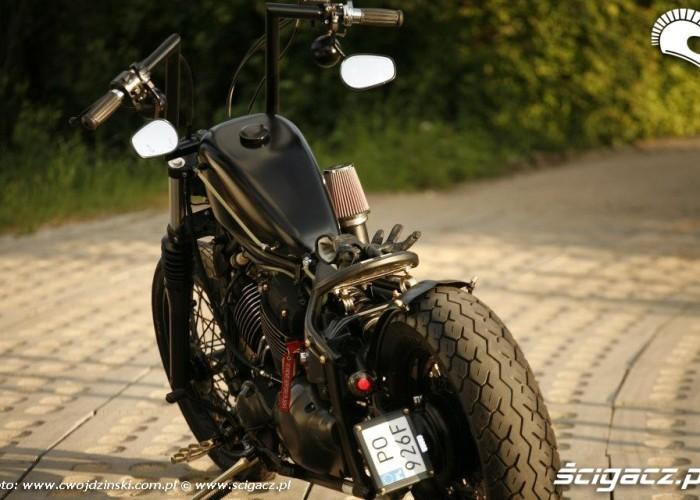 projekt Yamaha XVS650