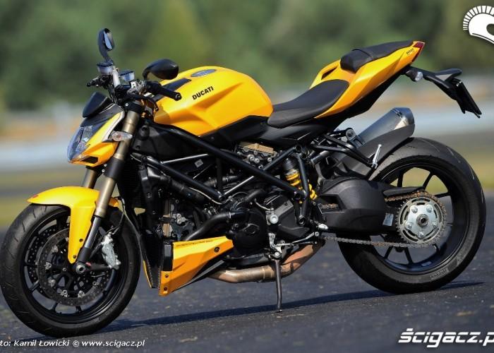 Lewy bok Ducati Streetfighter 848