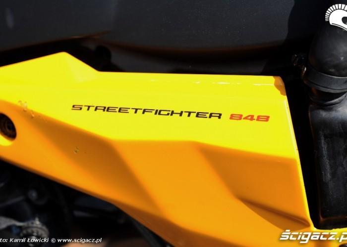 Owiewka Ducati Streetfighter 848