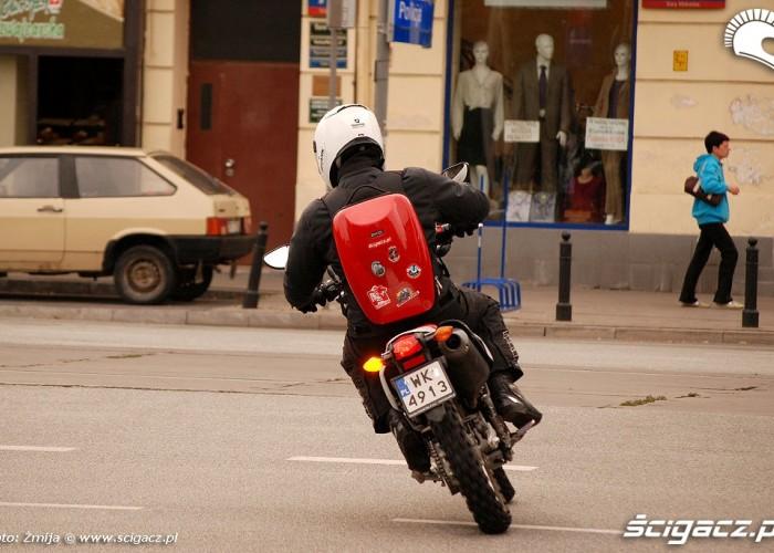 Honda CRF250L na uliy