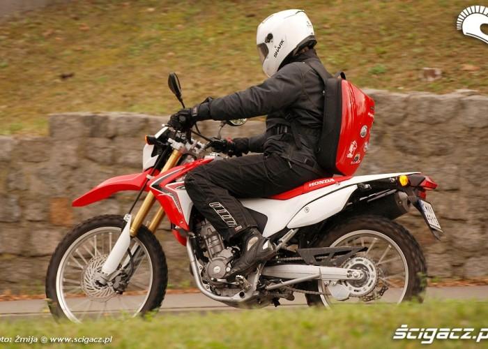 Honda CRF250L w Warszawie