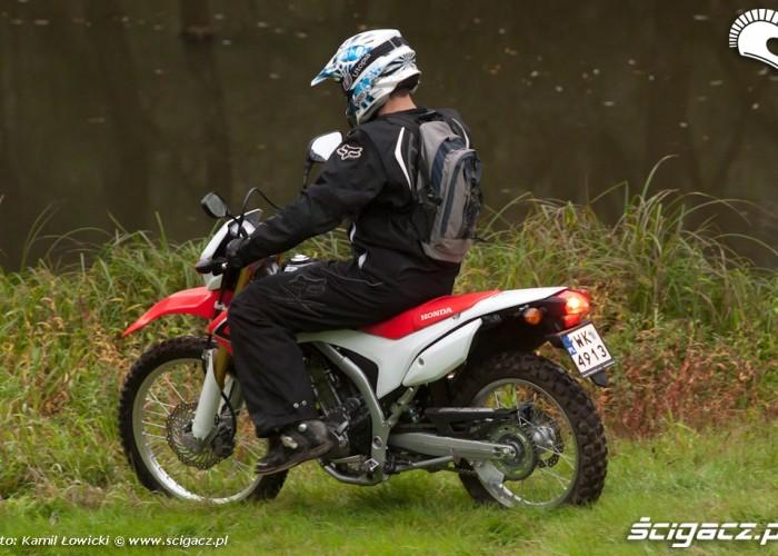 krzaki Honda CRF 250L