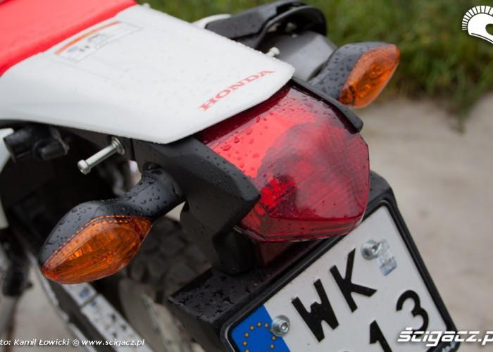 lampa tylna Honda CRF 250L