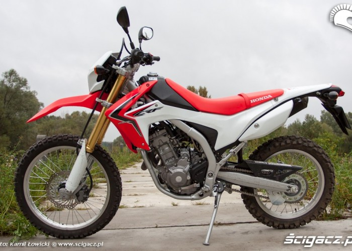 lewy bok Honda CRF 250L