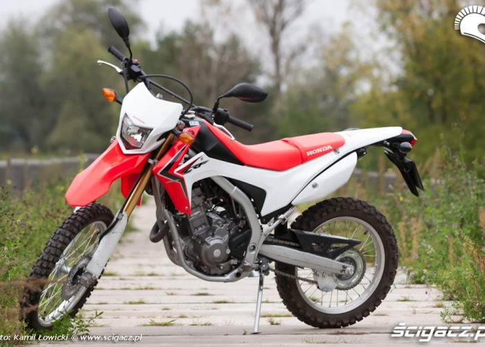 lewy przod Honda CRF 250L
