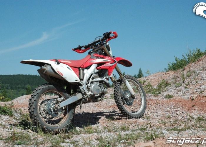 Honda CRF 450X kamieniolom