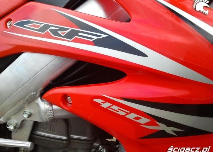 Logo Honda CRF450X