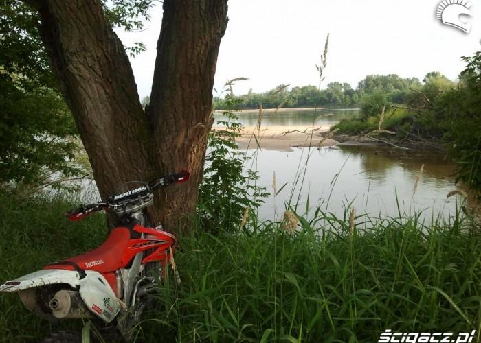 Nad rzeka CRF450X 2012