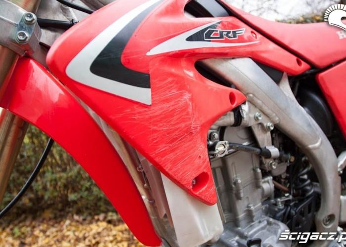Plastiki Honda CRF 450X