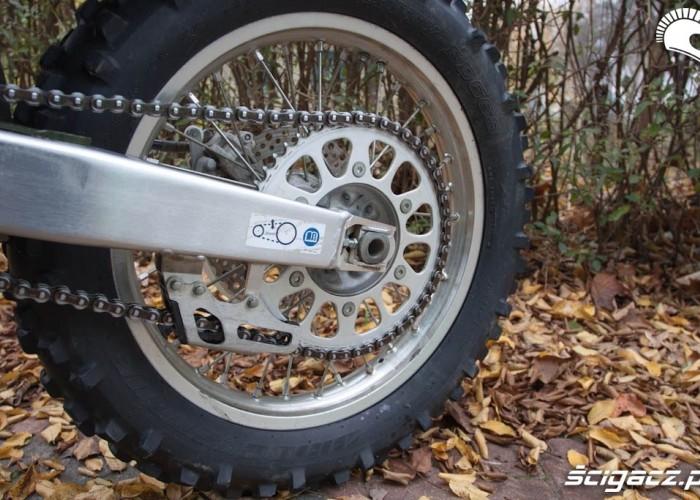 Tylne kolo Honda CRF 450X