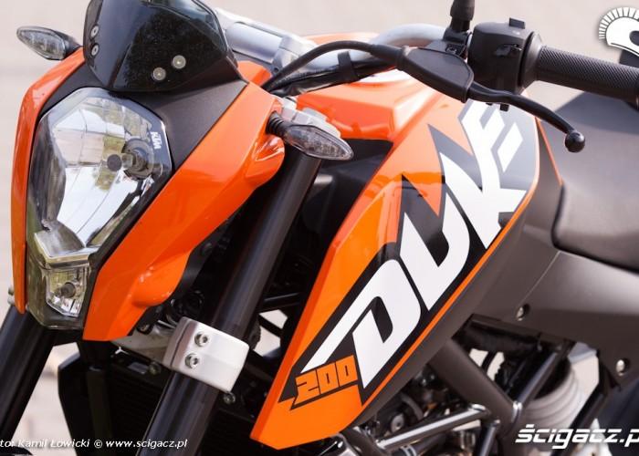 logo KTM Duke 200 scigacz pl