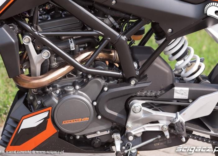 silnik KTM Duke 200 scigacz pl
