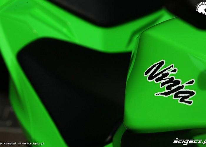 kawasaki ninja 300 siedzenie