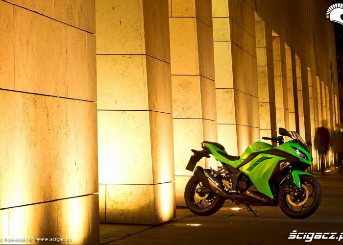 ninja 300 pod muzeum