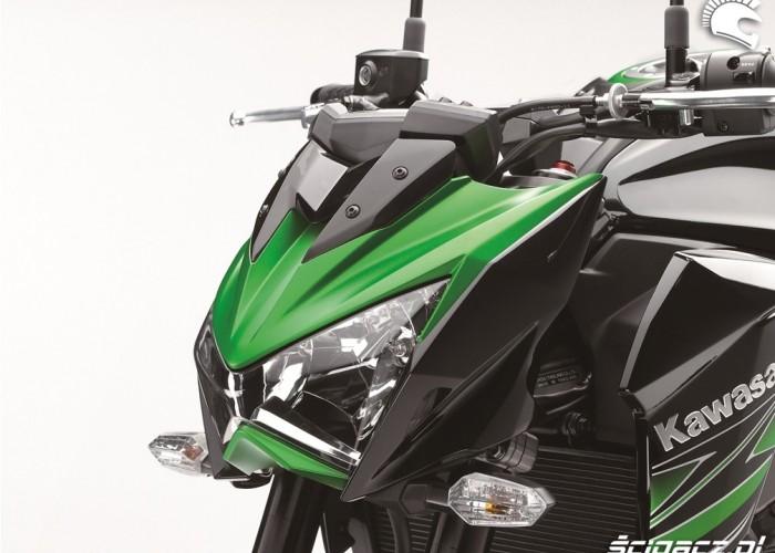 Kawasaki Z800 2013 lampa