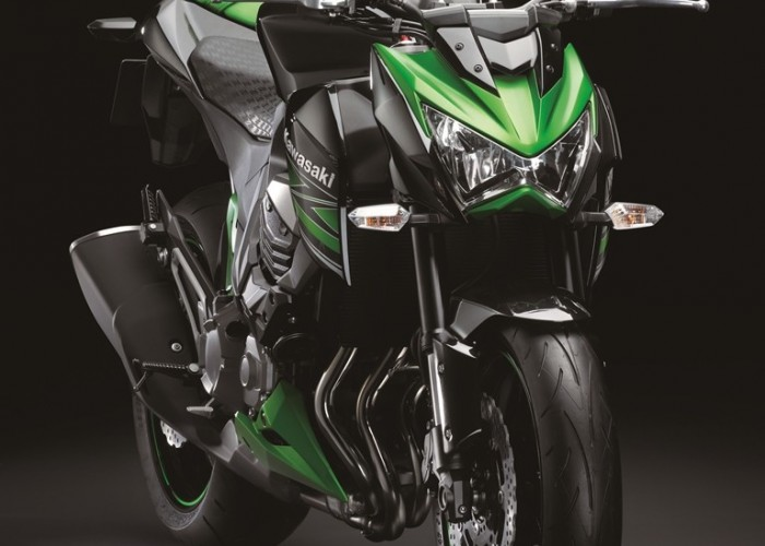 Kawasaki Z800 2013 przod