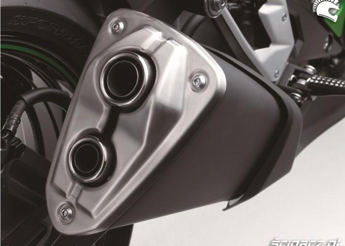 Kawasaki Z800 2013 tlumik