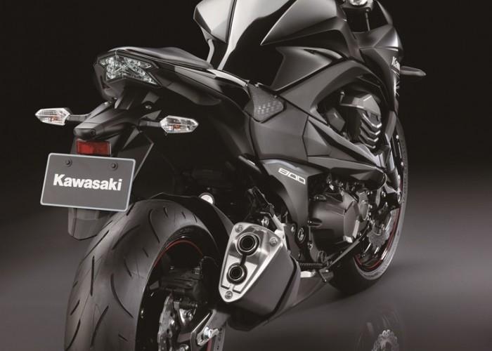 Kawasaki Z800 2013 tyl