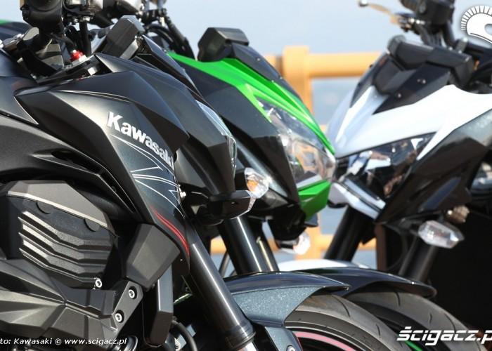 Kawasaki Z800 leb w leb