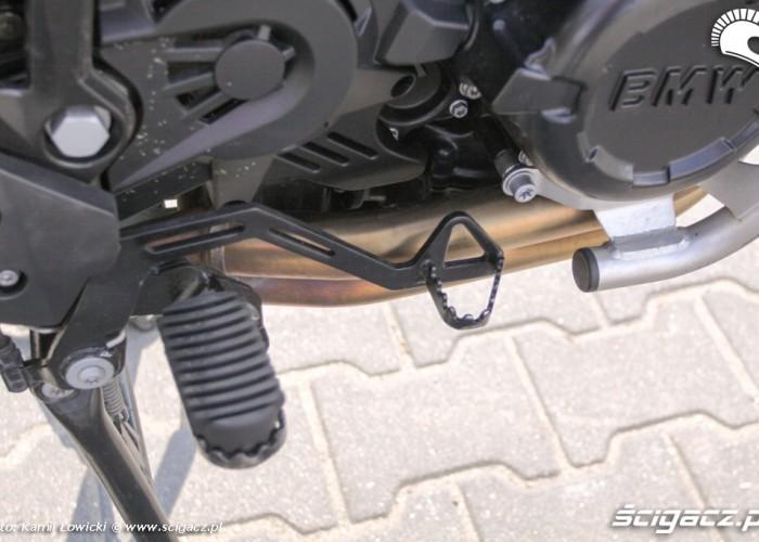 dzwignia hamulca tylnego BMW F800GS