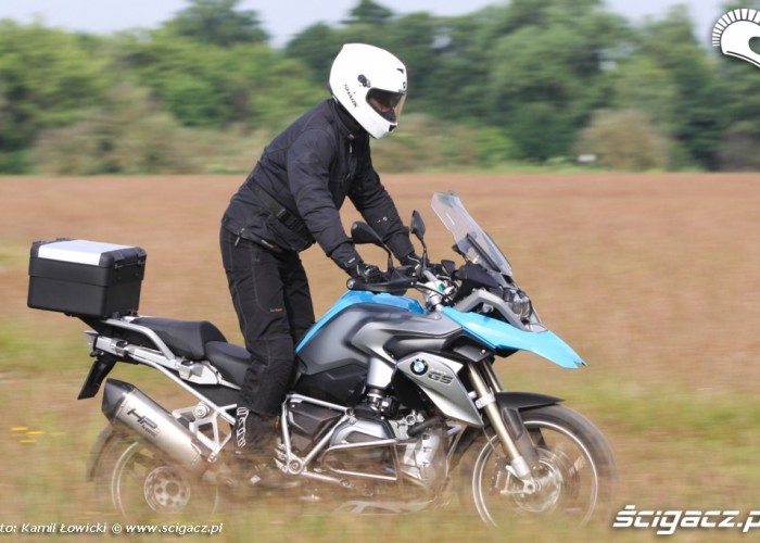 po lace BMW R1200GS