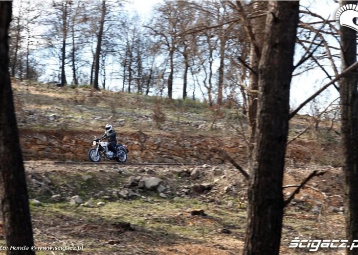 Gdzies w gorach Honda CB1100 2013