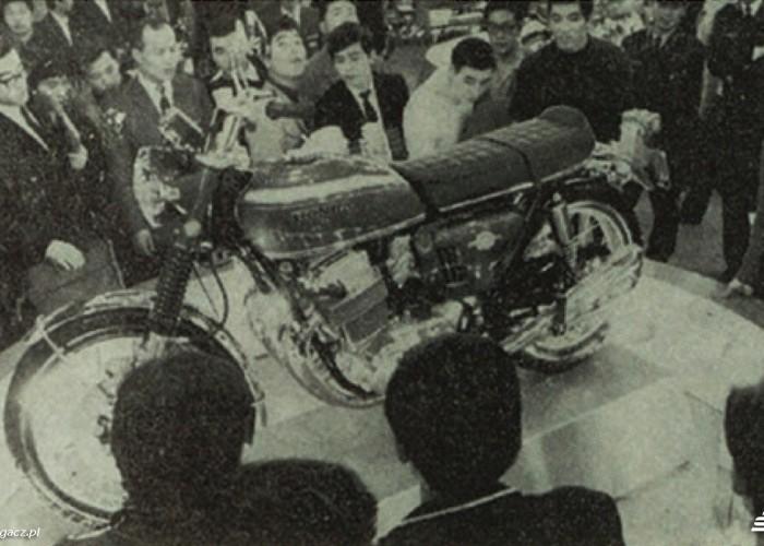 Honda CB750 1968 na targach Tokio