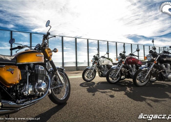 Honda CB750 i nastepcy Honda CB1100