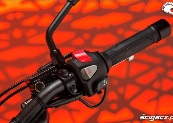 Honda CB500F 2013 przelaczniki