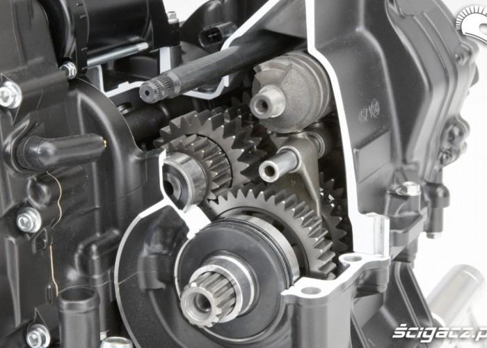 Przeniesienie napedu Honda CB500F 2013