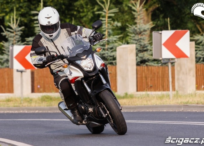 ciasny luk Honda CB500AX Scigacz.pl