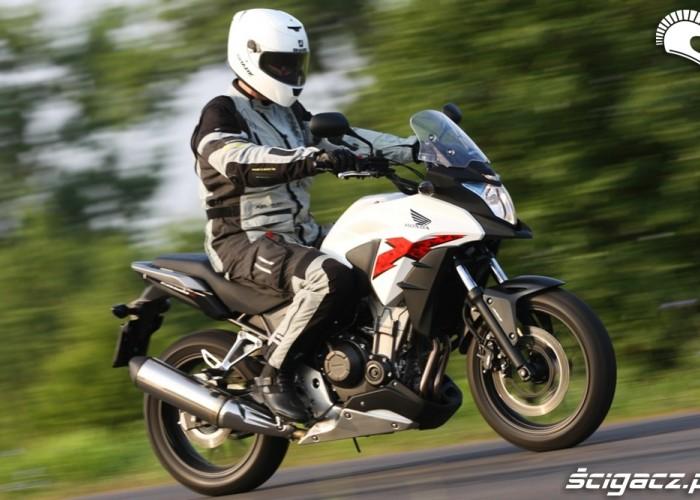 na drodze Honda CB500AX Scigacz.pl
