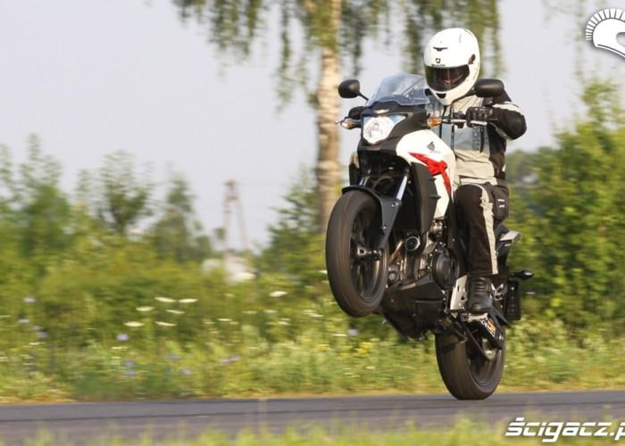 na gumie Honda CB500AX Scigacz.pl