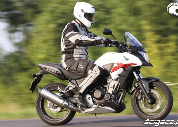 szybka jazda Honda CB500AX Scigacz.pl