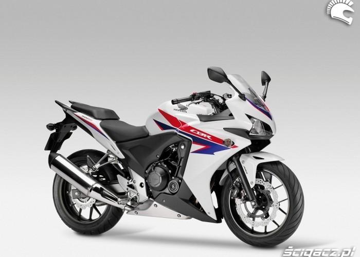 Malowanie HRC nowa Honda CBR500R 2013