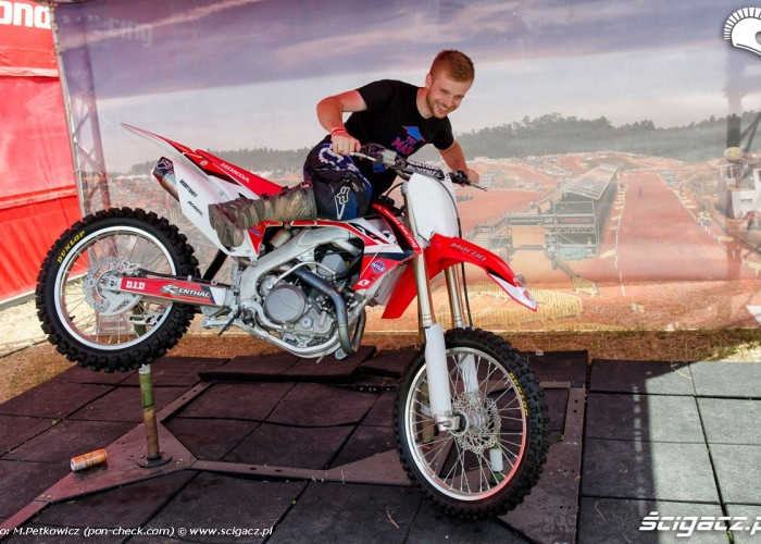 Michal Mikulski honda crf250r 2014