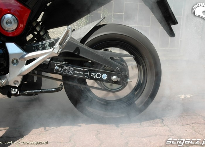 Burnout Honda MSX 125 2014