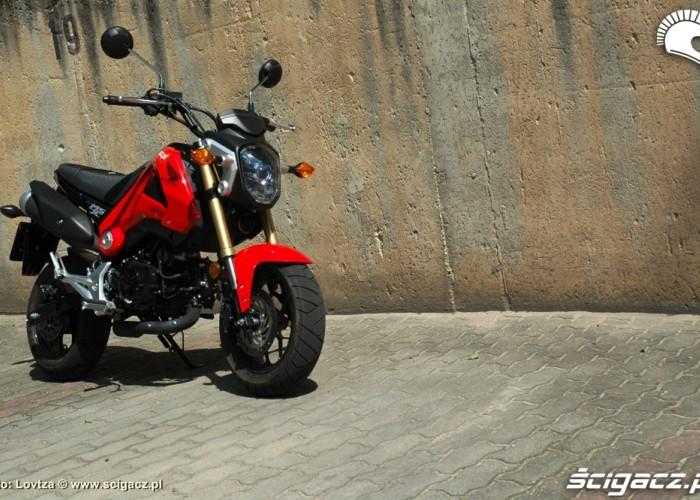 Honda MSX 125 2014 profil
