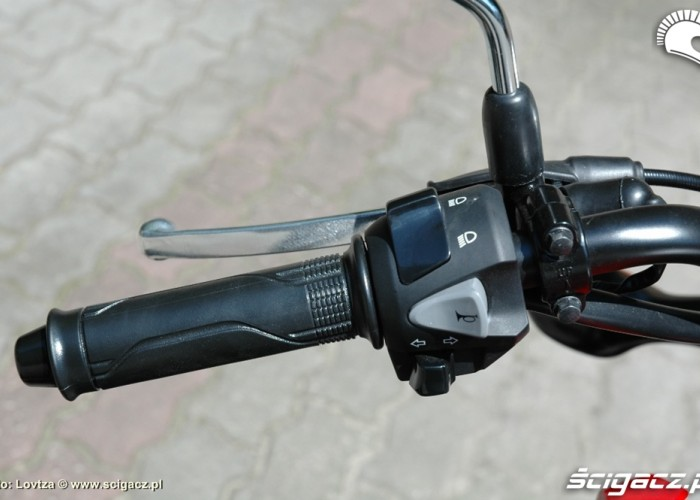 Honda MSX 125 kierownica