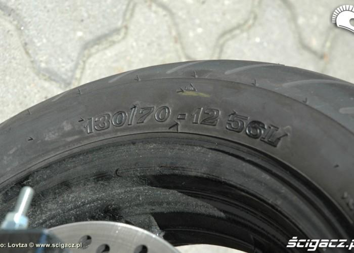 Kolo tylne Honda MSX 125