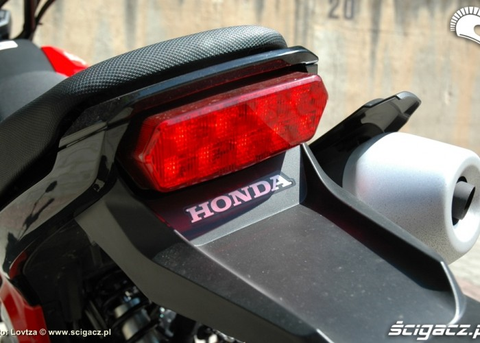 Lampa tylna Honda MSX 125
