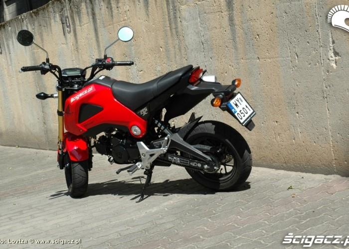 Przed jazda Honda MSX 125 2014