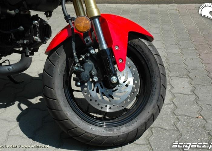 przedni hamulec Honda MSX 125