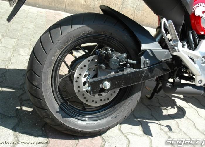 tylny hamulec Honda MSX 125