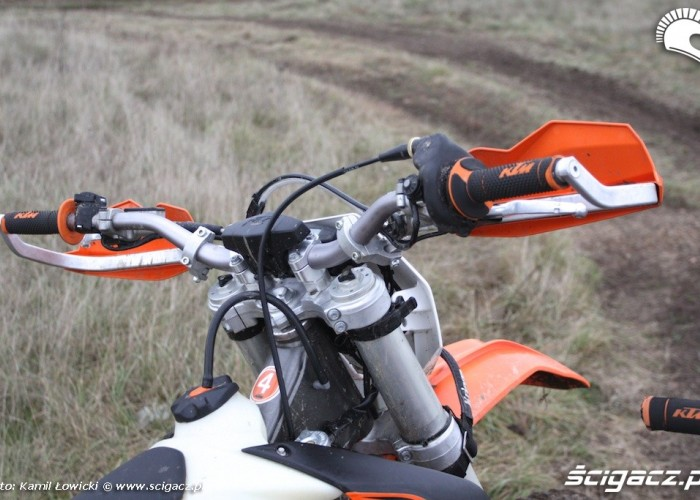 kierownicka exc KTM 250 Porownanie
