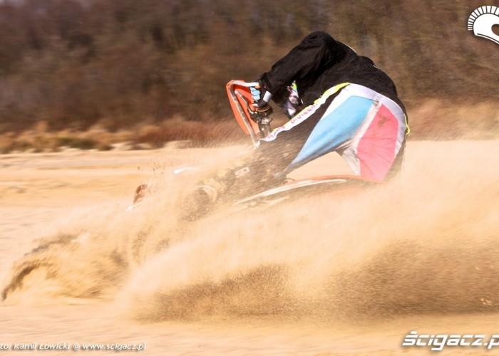 lekka wywrotka KTM 250 Porownanie