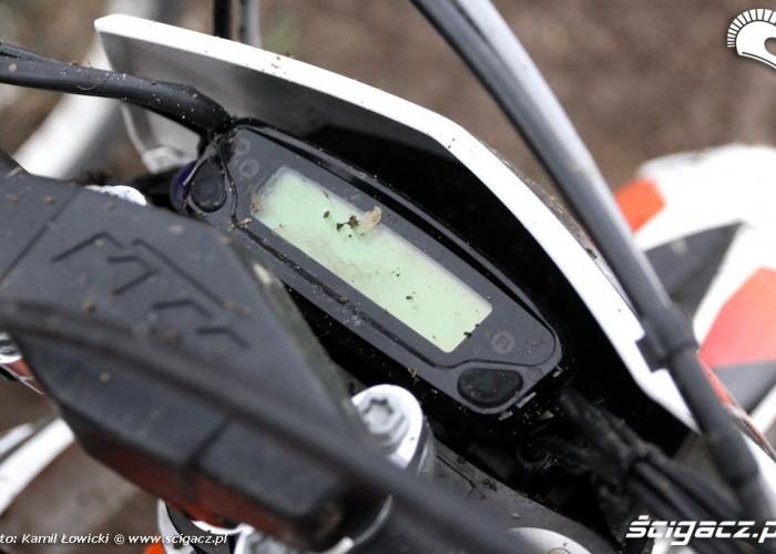 licznik freeride KTM 250 Porownanie